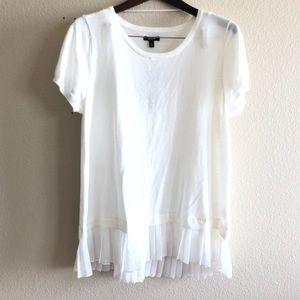 🛍APT.9 || $44 Pleated Woven Blouse